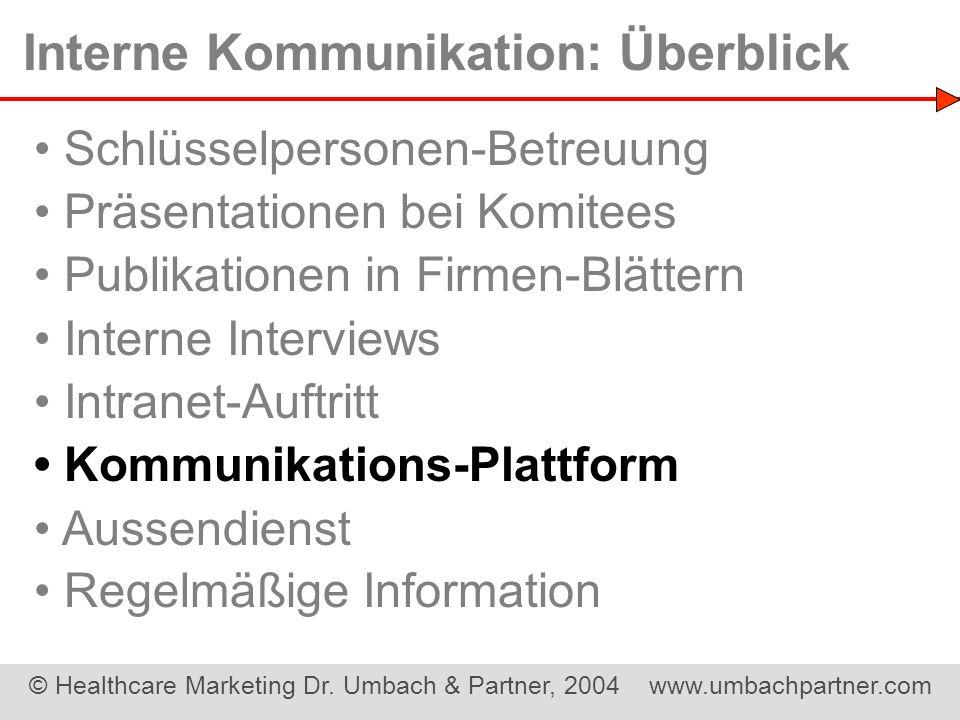 Interne Kommunikation: Überblick