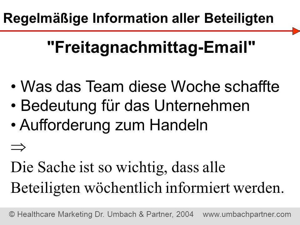 Freitagnachmittag-Email