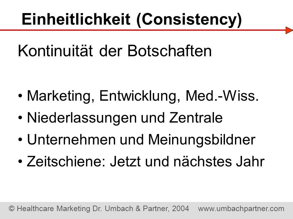 Einheitlichkeit (Consistency)