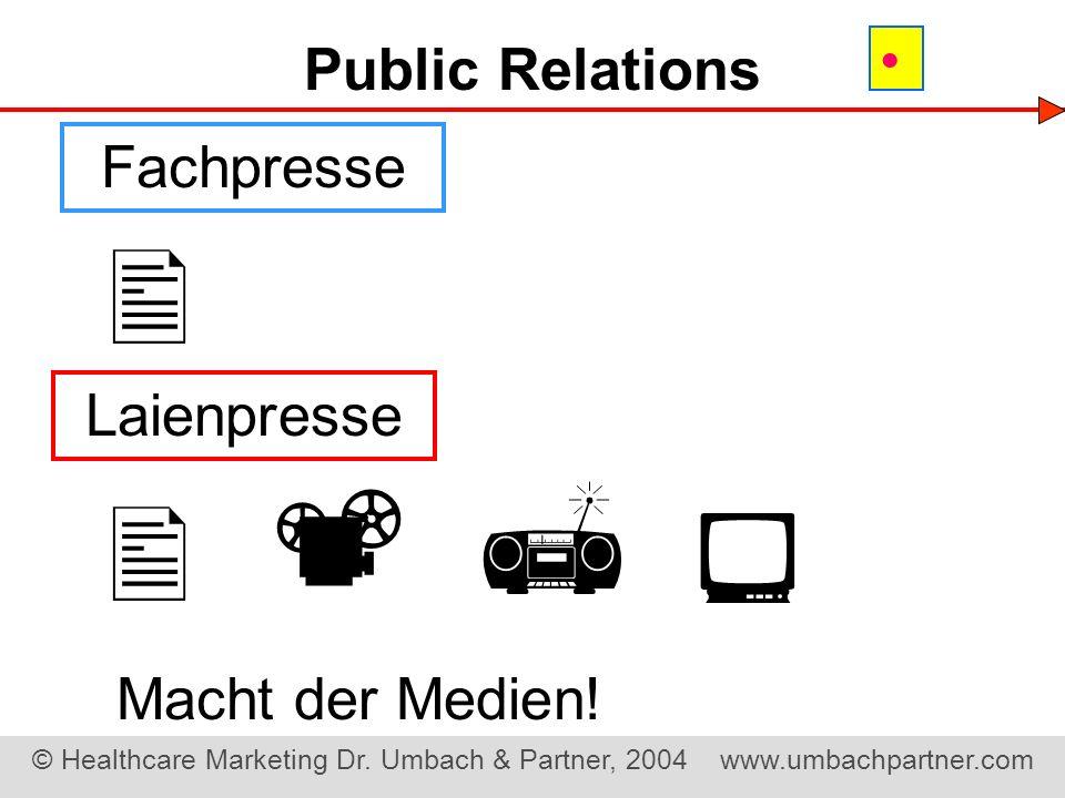Public Relations  Fachpresse  Laienpresse     Macht der Medien!