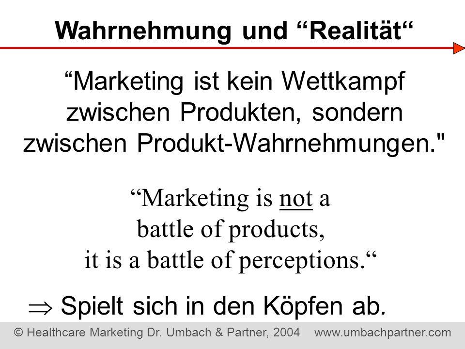 Wahrnehmung und Realität