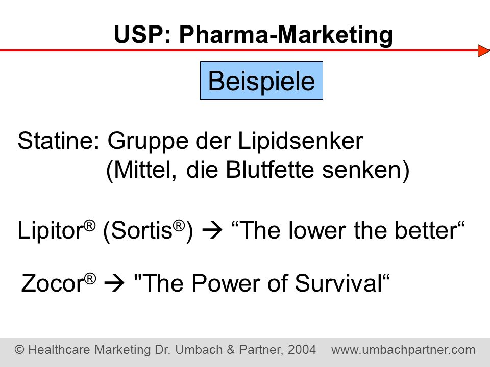 USP: Pharma-Marketing