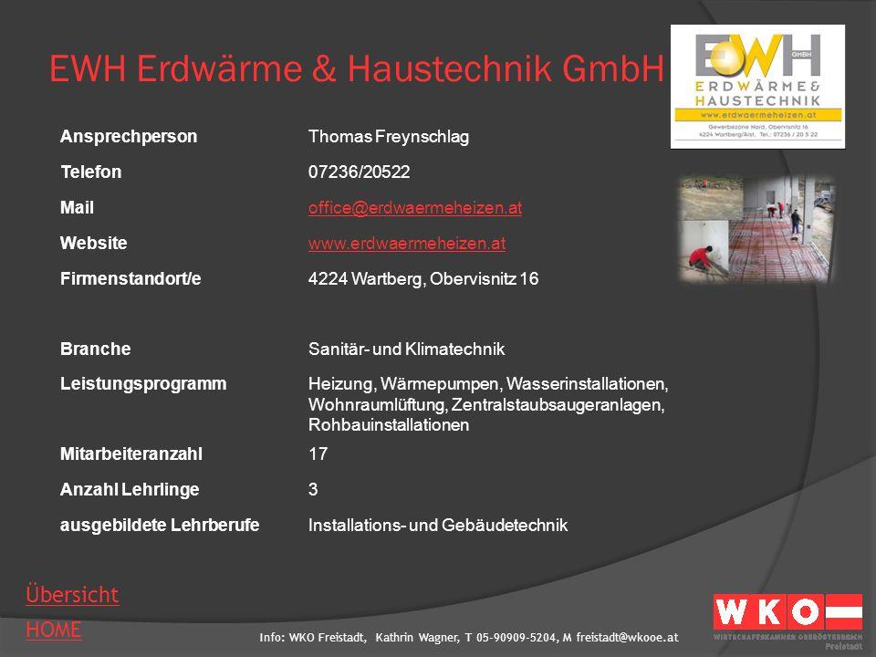 EWH Erdwärme & Haustechnik GmbH