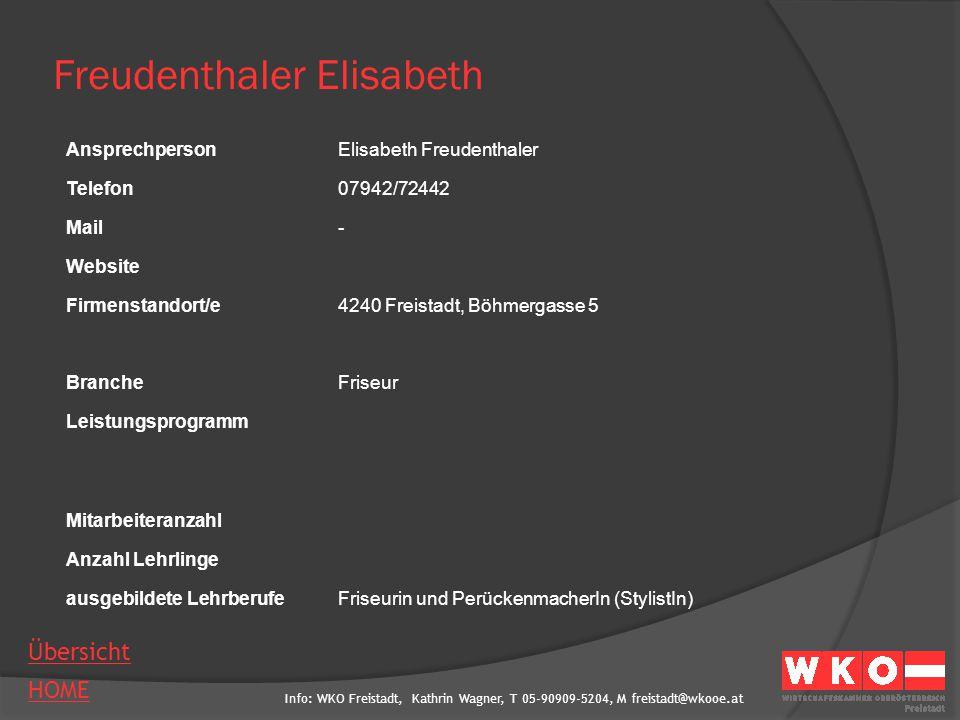 Freudenthaler Elisabeth