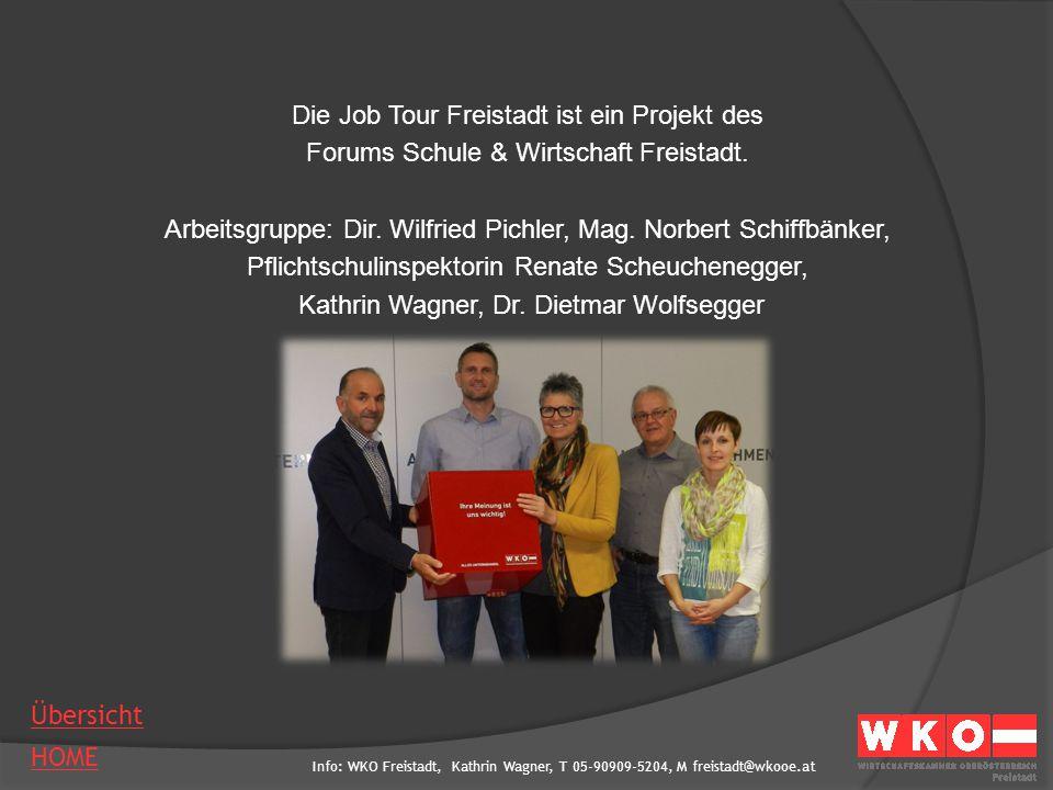 Die Job Tour Freistadt ist ein Projekt des