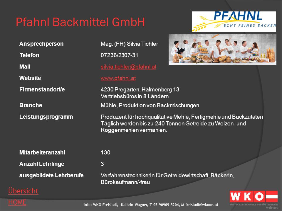 Pfahnl Backmittel GmbH