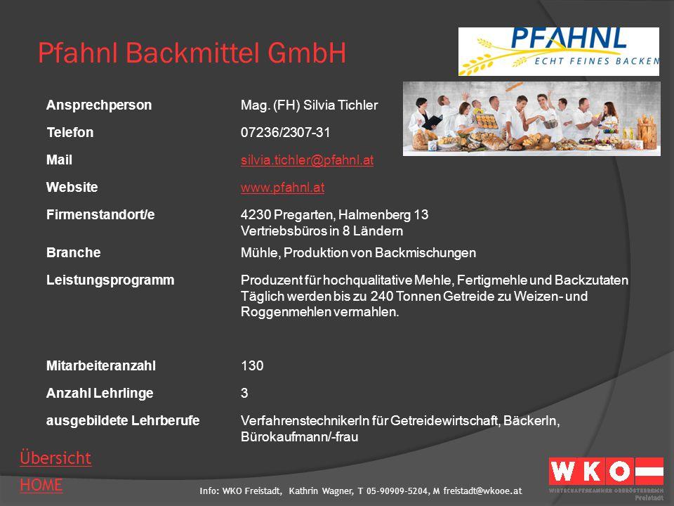 Pfahnl Backmittel GmbH