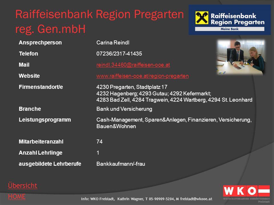 Raiffeisenbank Region Pregarten reg. Gen.mbH