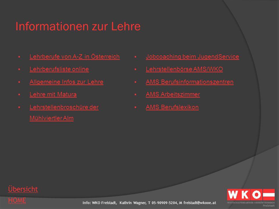 Informationen zur Lehre