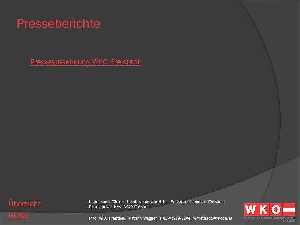 Presseberichte Presseaussendung WKO Freistadt