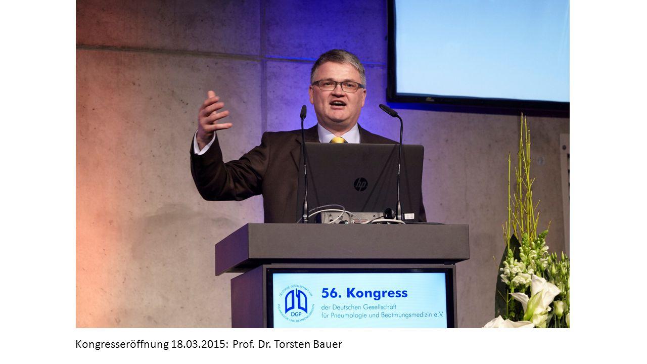 Kongresseröffnung 18.03.2015: Prof. Dr. Torsten Bauer