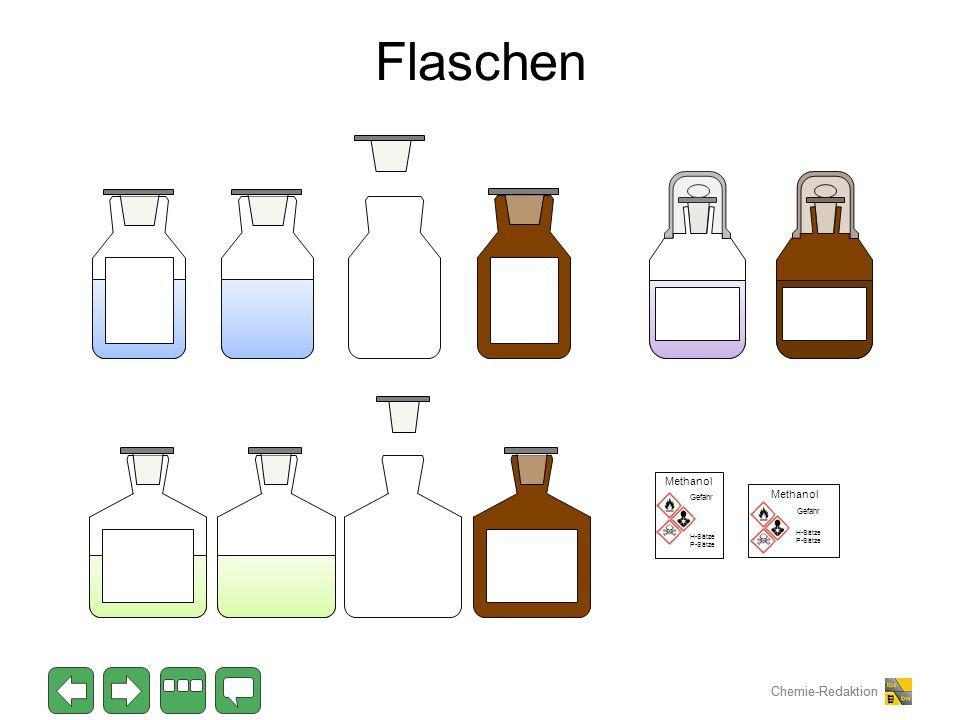 Flaschen Methanol Methanol Gefahr Gefahr H-Sätze P-Sätze H-Sätze