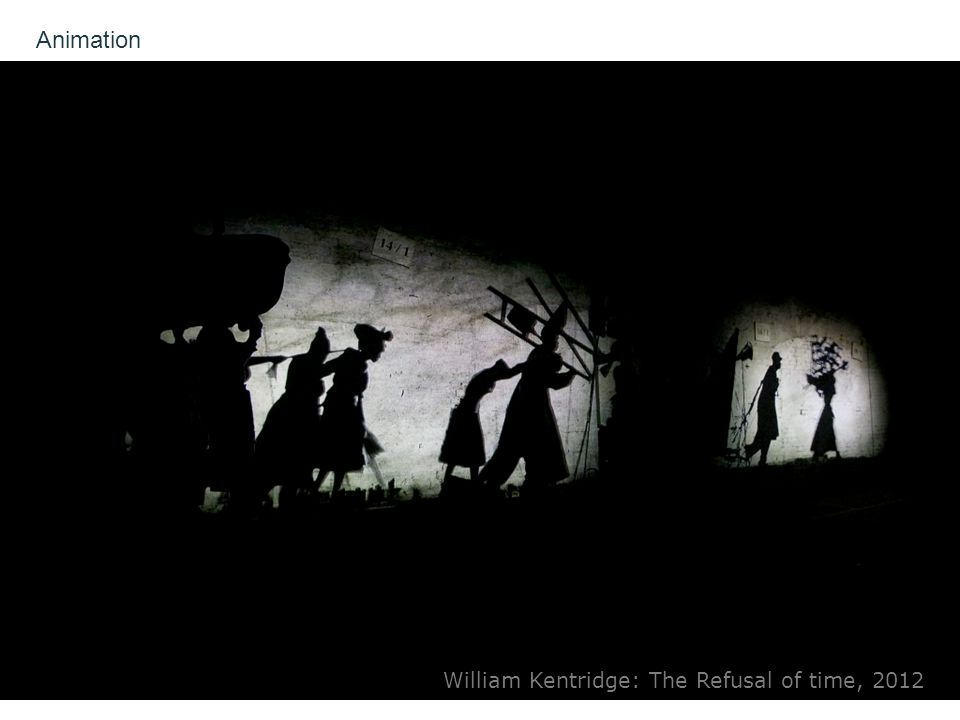 Animation William Kentridge: The Refusal of time, 2012