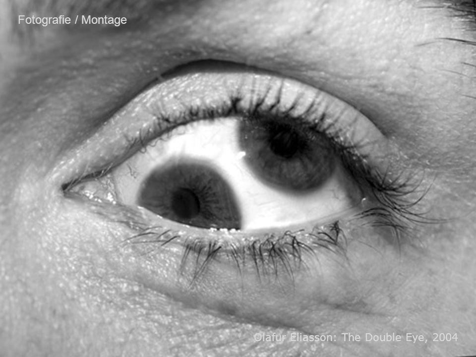Fotografie / Montage Olafur Eliasson: The Double Eye, 2004