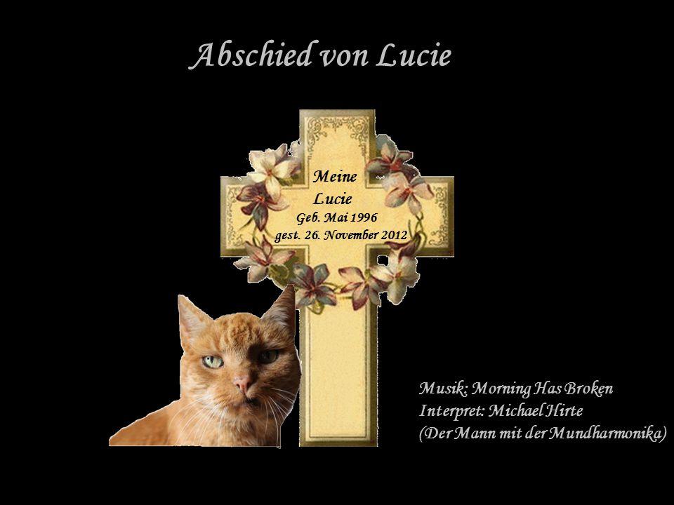 Abschied von Lucie Meine Lucie