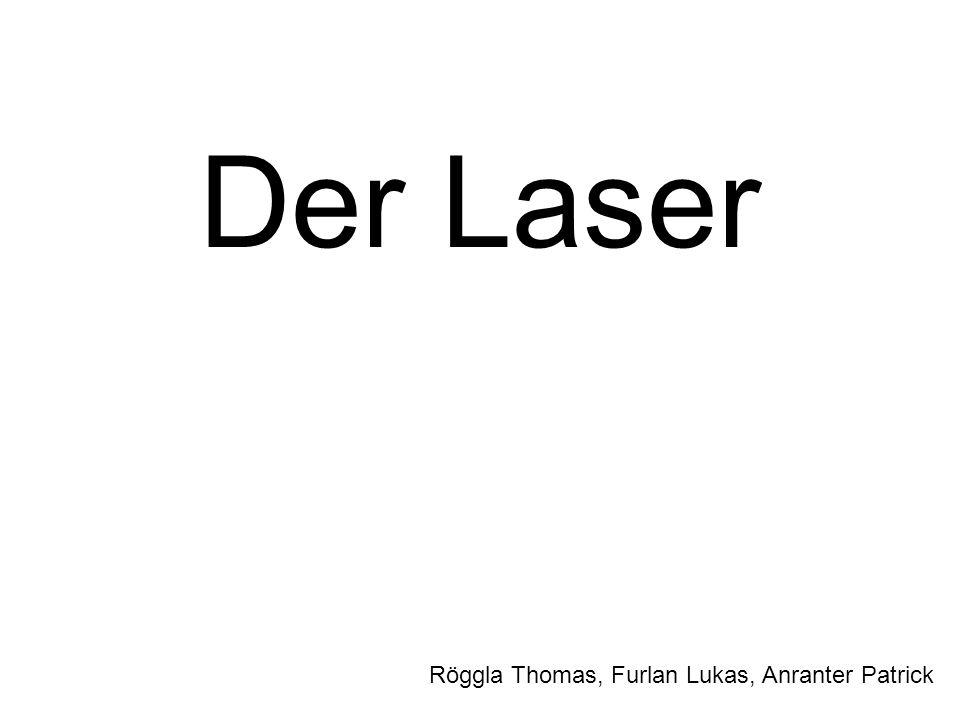 Der Laser Röggla Thomas, Furlan Lukas, Anranter Patrick