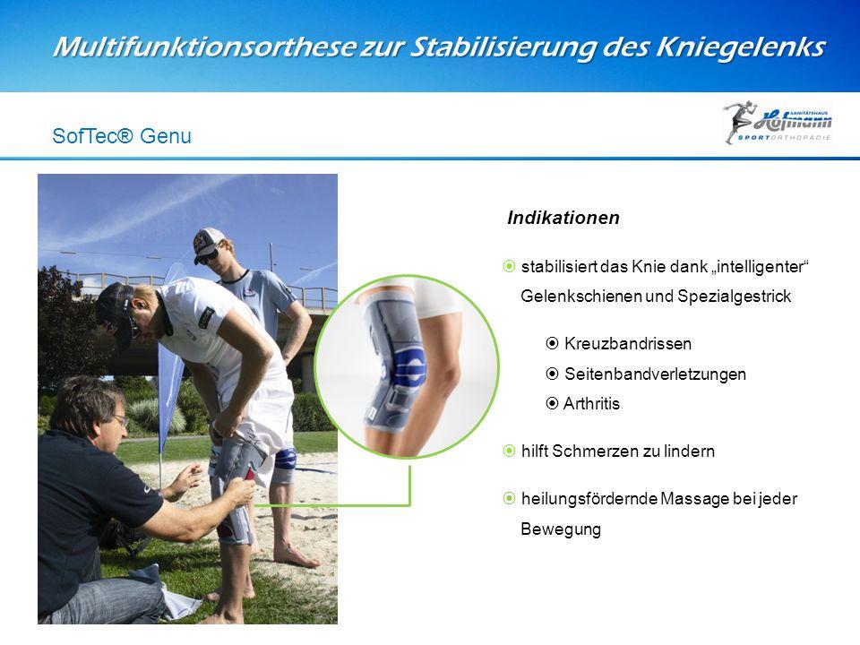 Multifunktionsorthese zur Stabilisierung des Kniegelenks