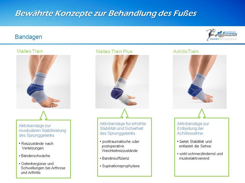 Bewährte Konzepte zur Behandlung des Fußes