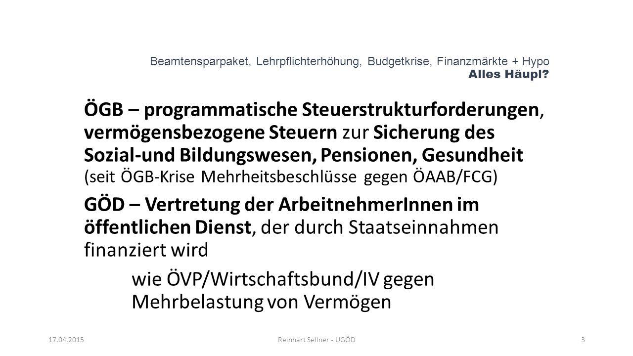 Reinhart Sellner - UGÖD