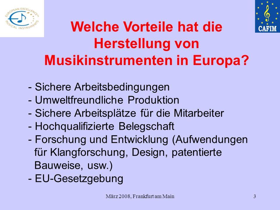 Welche Vorteile hat die Herstellung von Musikinstrumenten in Europa