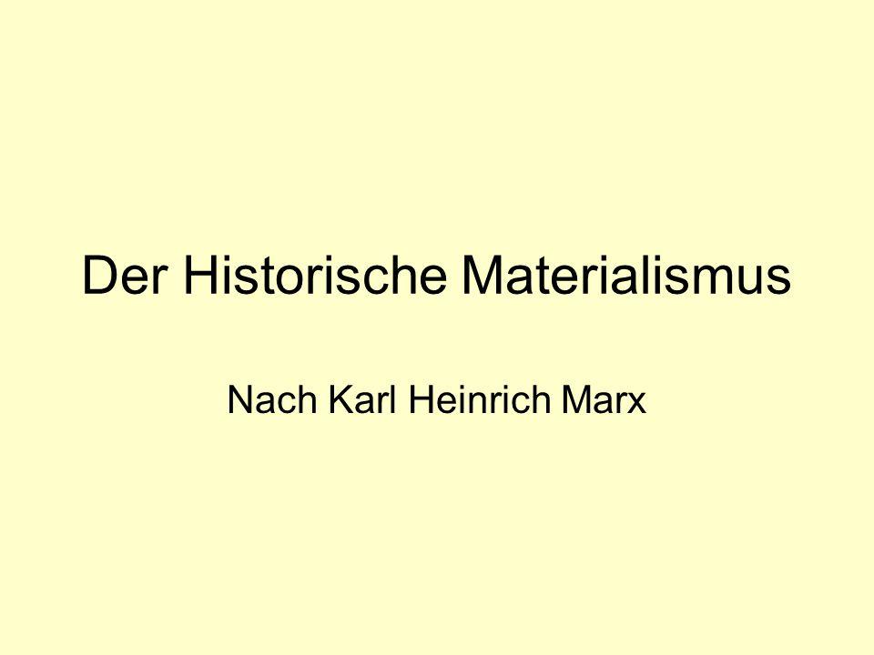 Der Historische Materialismus