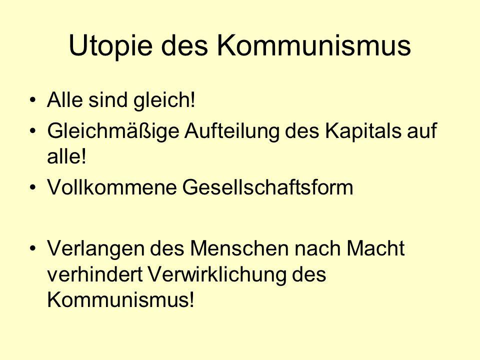 Utopie des Kommunismus