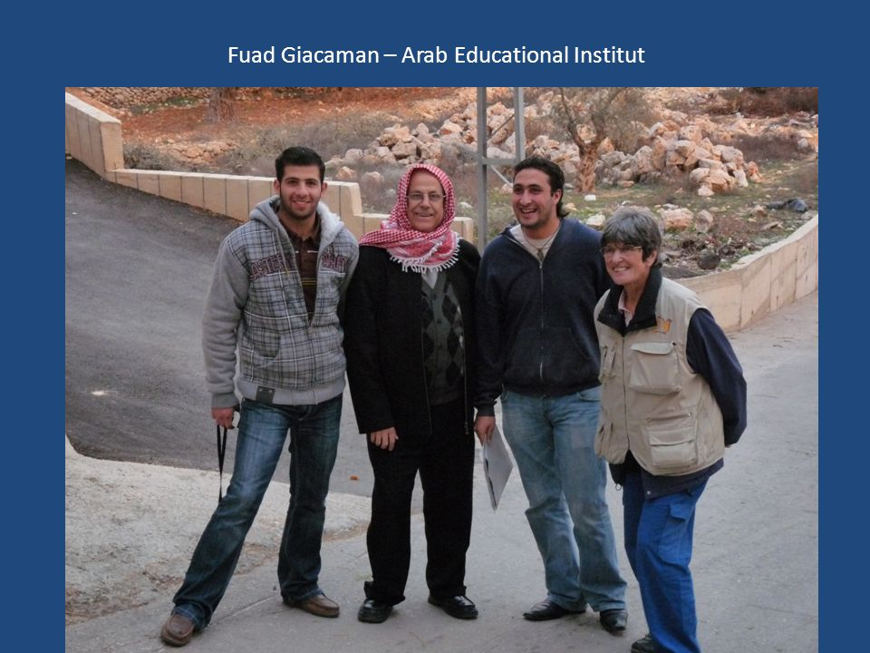Fuad Giacaman – Arab Educational Institut