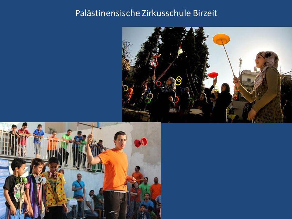 Palästinensische Zirkusschule Birzeit