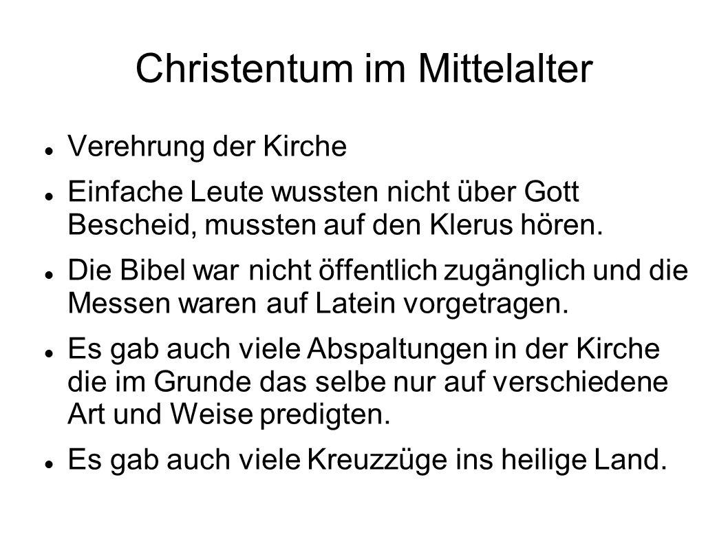 Christentum im Mittelalter
