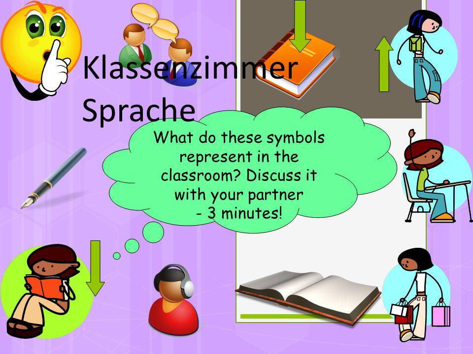 Klassenzimmer Sprache
