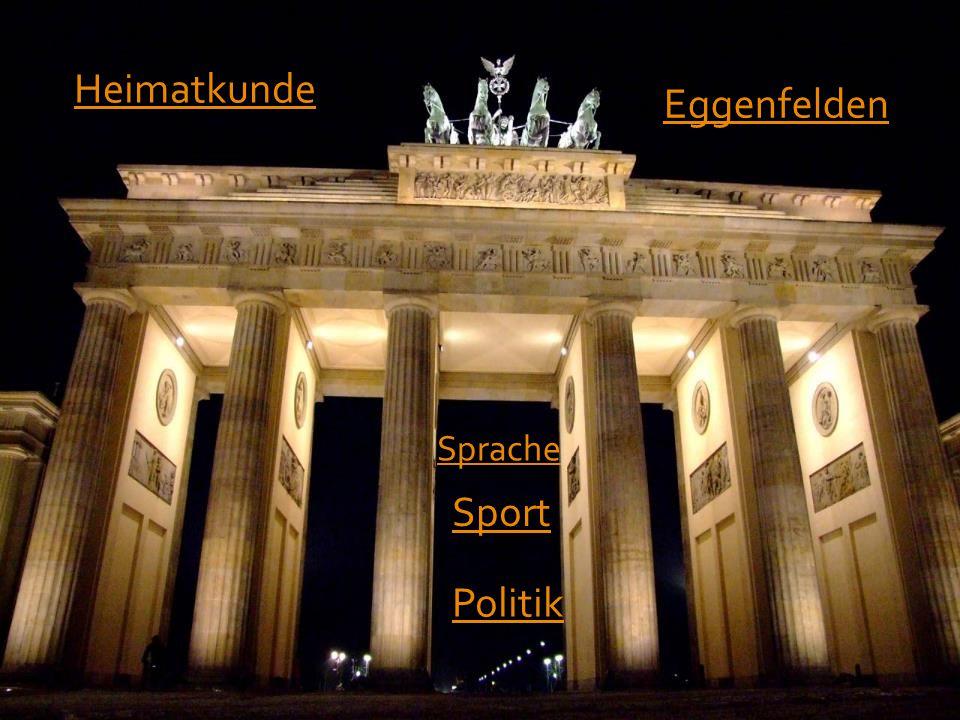 Heimatkunde Eggenfelden Sprache Sport Politik