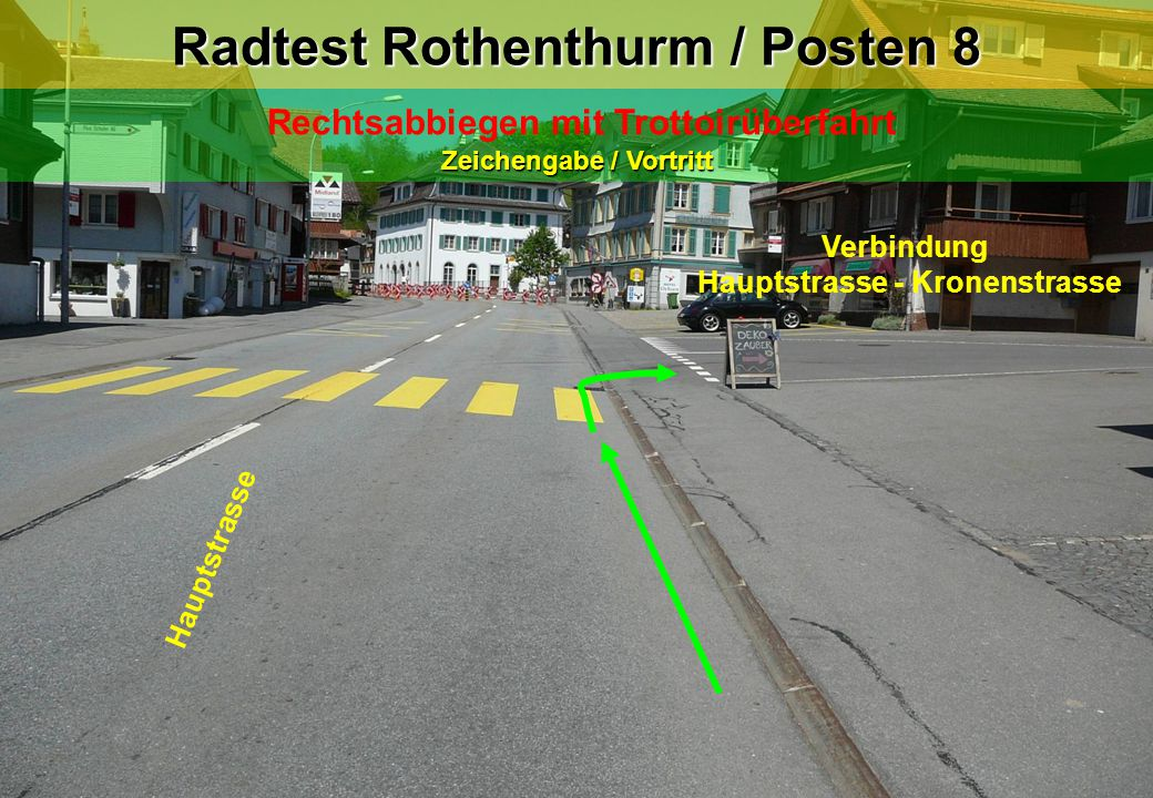 Radtest Rothenthurm / Posten 8
