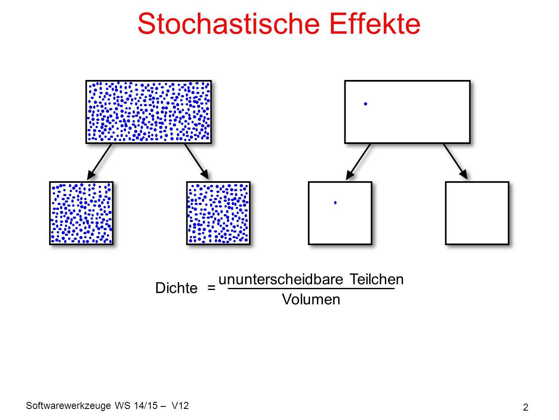 Stochastische Effekte