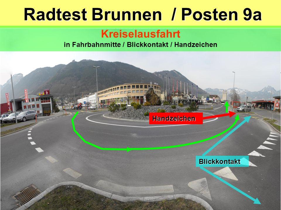 Radtest Brunnen / Posten 9a