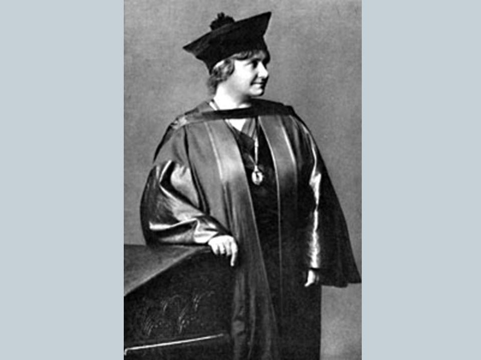 1896 legt Maria Montessori ihre Doktorarbeit vor, eine Arbeit von 96 handschriftlichen Seiten.