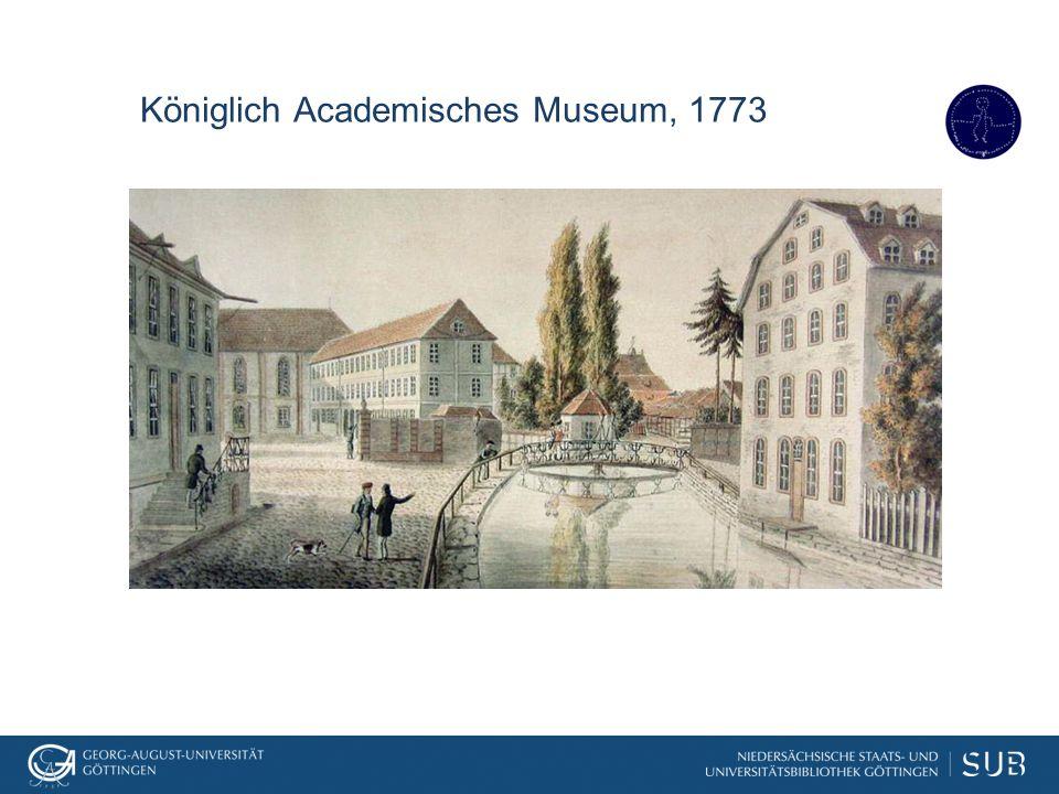 SUB Göttingen: Alte Drucke, Handschriften und seltene Drucke, Universitätsarchiv