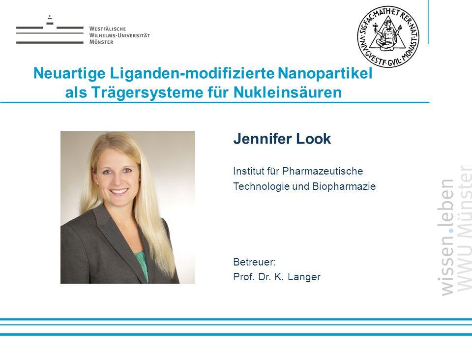 Neuartige Liganden-modifizierte Nanopartikel als Trägersysteme für Nukleinsäuren