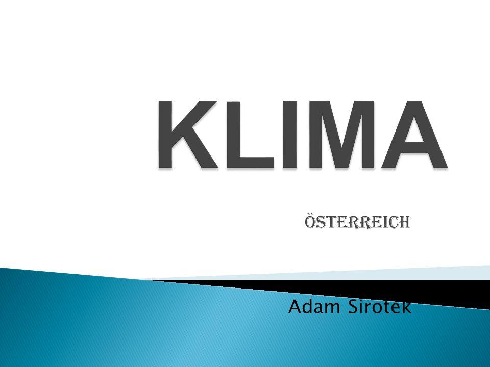 KLIMA Österreich Adam Sirotek
