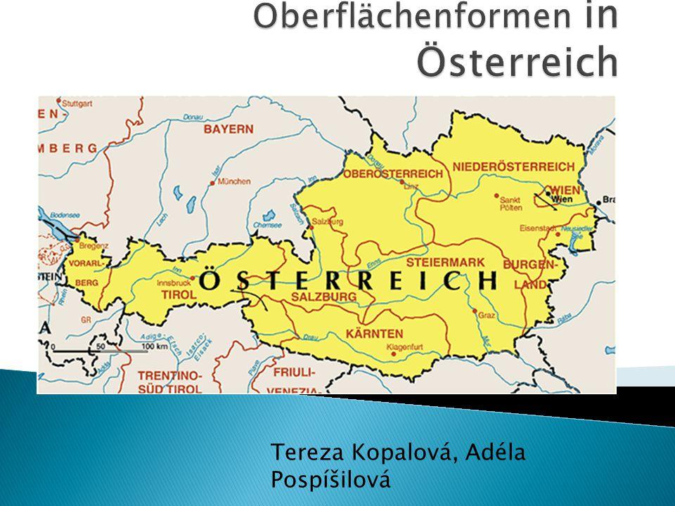 Oberflächenformen in Österreich