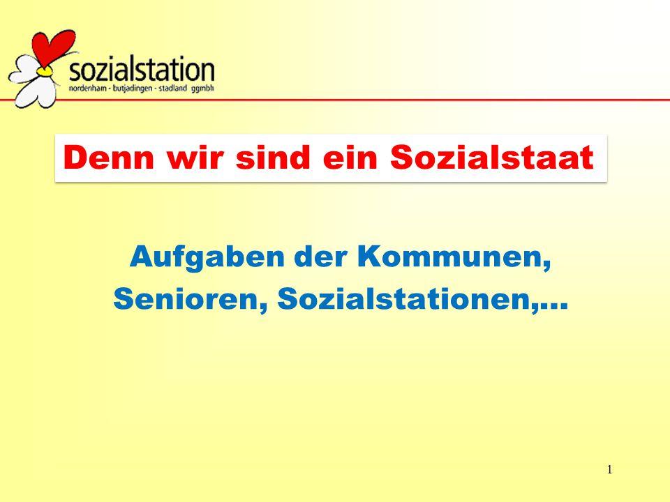 Aufgaben der Kommunen, Senioren, Sozialstationen,…