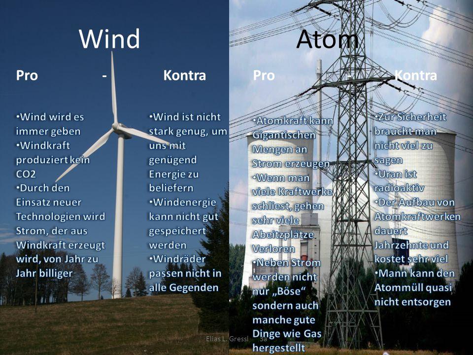 Wind Atom Pro - Kontra Pro - Kontra Wind wird es immer geben