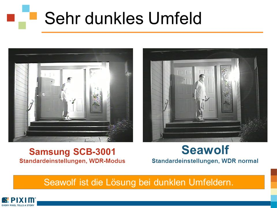 Standardeinstellungen, WDR normal Standardeinstellungen, WDR-Modus
