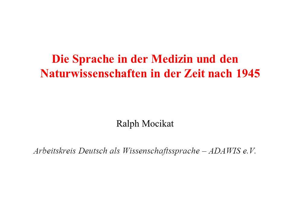 Arbeitskreis Deutsch als Wissenschaftssprache – ADAWIS e.V.