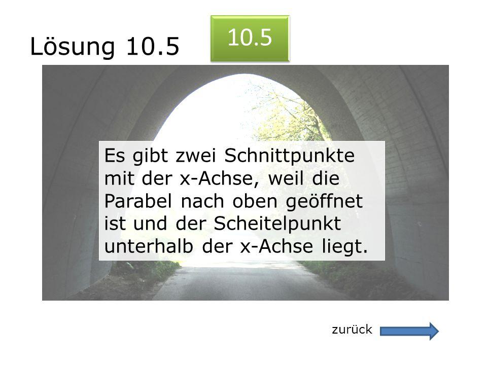 Lösung 10.5 10.5.