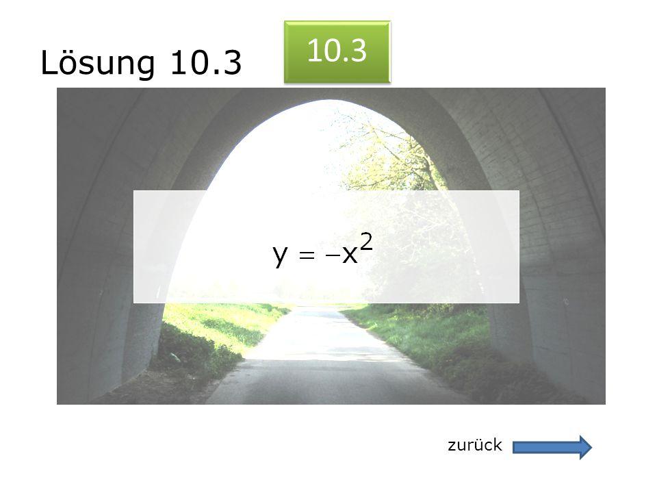 Lösung 10.3 10.3 zurück