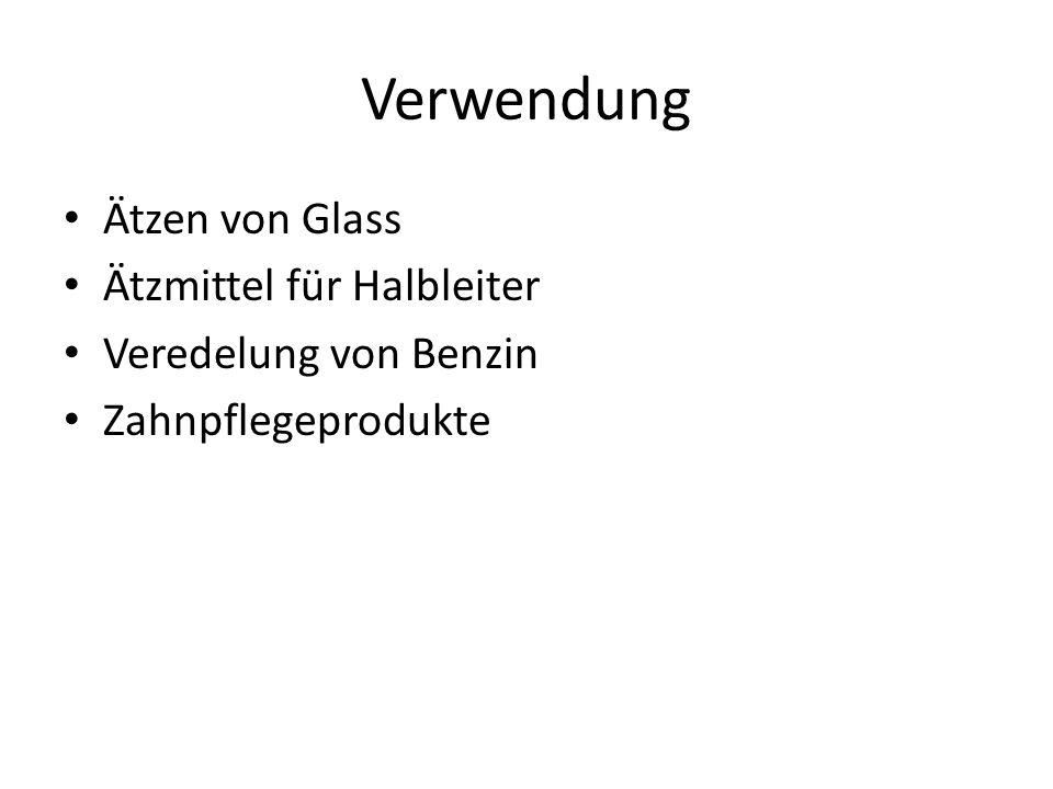 Verwendung Ätzen von Glass Ätzmittel für Halbleiter