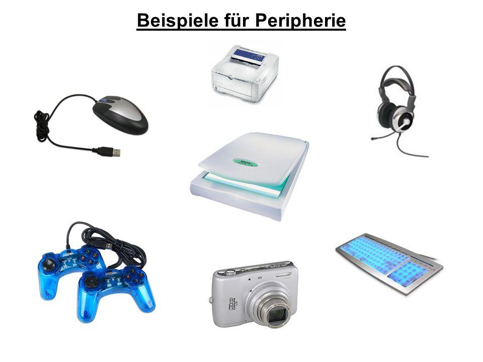Beispiele für Peripherie