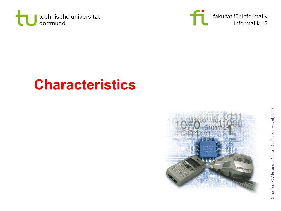 Characteristics Graphics: © Alexandra Nolte, Gesine Marwedel, 2003