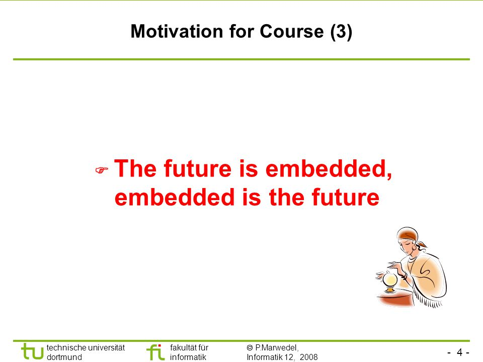 Motivation for Course (3)
