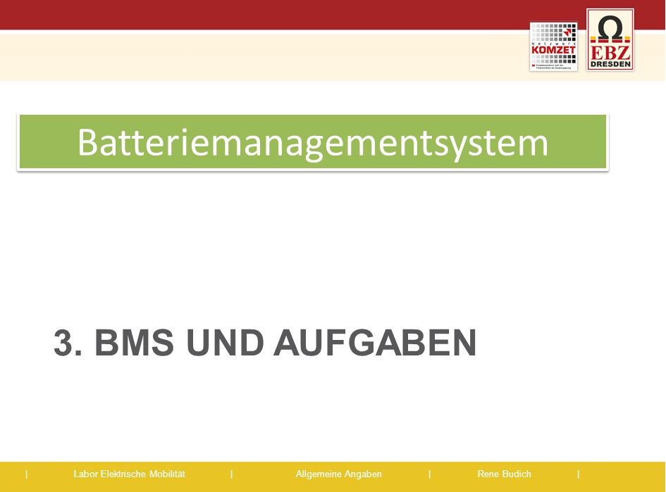 Batteriemanagementsystem